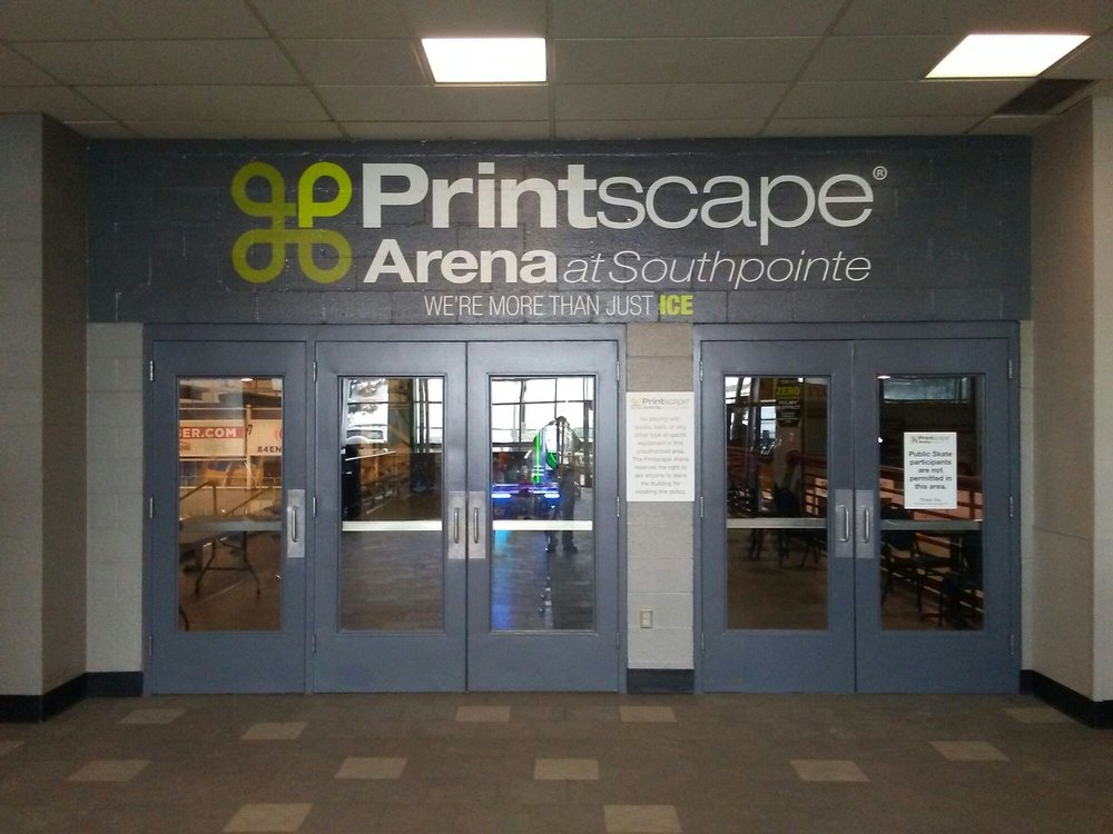 Murry Gunty and Printscape Imaging and Graphics Overhaul the Arena at Southpointe
